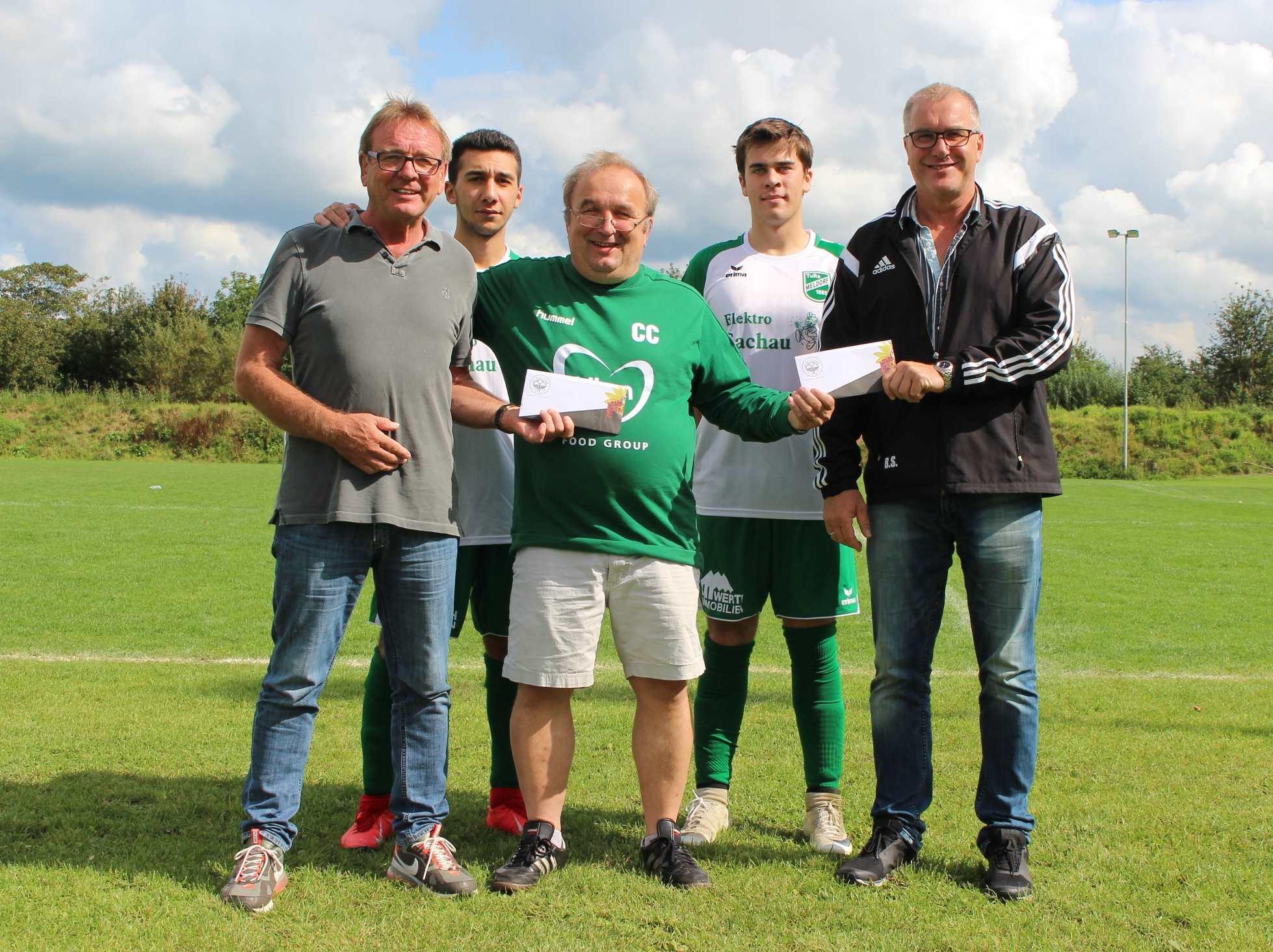 watch e11a9 88b17 Fußball Sponsoring: Neues Outfit für die A2-Junioren – TuRa ...
